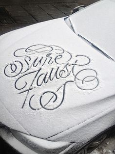 snow type #design #type