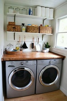 Laundry room makevover for under 250 with diy rustic industrial laundry room makevover for under 250 with diy rustic industrial pipe shelving and farmhouse decor rustic industrial laundry rooms and laundry solutioingenieria Image collections