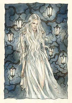 Celebrian, my favorite Tolkien character yet least so known. Celebrian wife of Elrond, mother of Arwen daughter of Celeborn and Galadriel