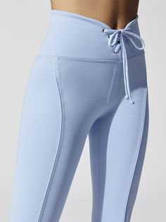 Football Leggings in Baby Blue workout clothes for women lululemon yoga pants fitness clothing funky running capris bootcut yoga pants Leggings Mode, Blue Leggings, Sports Leggings, Leggings Fashion, Workout Leggings, Workout Pants, Cheap Leggings, Printed Leggings, Jeans Leggings