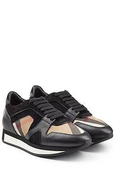 Burberry Shoes & Accessories -  Black Sneakers   STYLEBOP.com