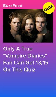 """Only A True """"Vampire Diaries"""" Fan Can Get On This Quiz- I totally nailed it 😛 Vampire Diaries Stefan, Quotes Vampire Diaries, Vampire Diaries Shirts, Vampire Diaries Jewelry, Vampire Diaries Poster, Vampire Diaries Cast, Vampire Diaries The Originals, Vampire Quiz, Vampire Daries"""