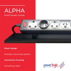 The Alpha range of products are tailored power solutions   Features:  🔌Sleek design adds a stylish touch to any environment 🔌Many mounting options to choose from 🔌Wide range of data / voice, and AV options 🔌Made from strong aluminium 🔌Many international power outlet options 🔌Connect two or more units together with a bypass cable 🔌Swivelling cable which will reduce strain on the cable and make the cable last longer  Visit our website for more information.