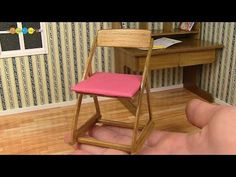 how to: miniature desk chair