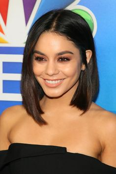 Vanessa Hudgens' Asymmetrical Cut | Head-over-heels in lob. The lob has been on the list of top haircuts for years now, and it's easy to see why. It can be intimidating to go for a big chop, and short haircuts don't offer many styling options. Long hair can be cumbersome, and during Southern summers, hot. Enter the lob—the happiest medium of all. Technically, a lob is a long bob haircut (hence the name), but they offer more versatility than most haircuts.