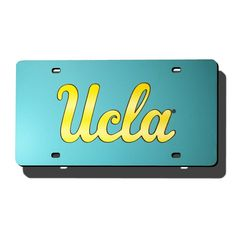 UCLA Bruins NCAA Laser Cut License Plate Cover