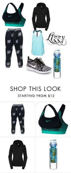 """""""running with enzo"""" by lakrishia-lakri-kri-brown on Polyvore featuring NIKE, The North Face and Sagaform"""