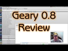 Geary 0.8 Review - YouTube
