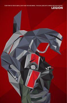 Legion by TheCuraga.deviantart.com on @deviantART