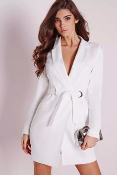 Bianca White Blazer Dress – Smart Wild Thing #SMARTWILDTHING