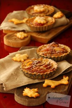 Bon Appétit *Apfel-Tartelettes* - Apfel-Tartelettes Rezept