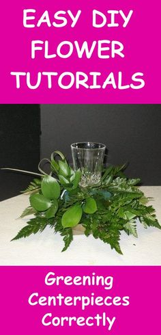Make Table Centerpieces