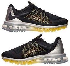 superior quality d4dca e20e7 Air Max 2015 - NIKE Nike Air Max Mens, Max 2015, Black Running Shoes