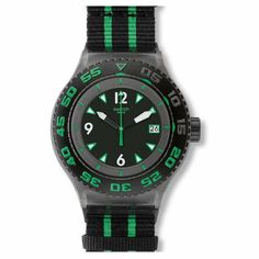 Swatch Deep Turtle Mens Watch SUUM400