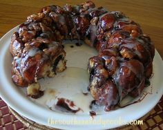 Blueberry Cinnamon Monkey Bread -This is wonderful for breakfast or anytime!