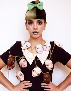 Pidgin + Melanie Martinez — Pidgin Doll  She is queen awesome style and great singer