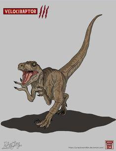Jurassic Park: Velociraptor by JurassicWorldFan
