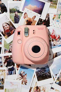 Fujifilm Instax Mini 8 Rosa te deseo a full t voy a tener y mi mundo va a estar completa