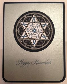 Cardi~ology: to study the art of card making; card making from the heart Hanukkah Greeting, Hanukkah Cards, Christmas Hanukkah, Happy Hanukkah, Hannukah, Holiday Greeting Cards, Greeting Cards Handmade, Christmas Cards, Xmas