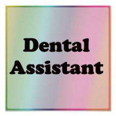 Dental Assistant Print