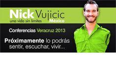 Nick Vujicic nuevamente en Veracruz.