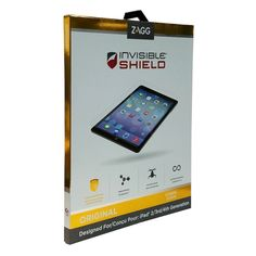 Zagg Invisibleshield Screen Protector For Ipad 2 3 4 Generation Clear APPIPAD3S
