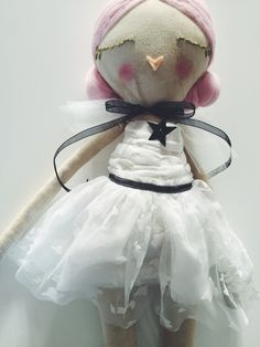 Image of Pink haired doll