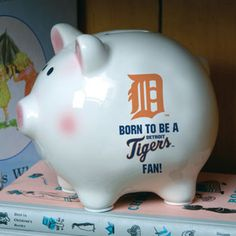 Detroit Tigers Candy Jar Made From Clay Pot And Saucers