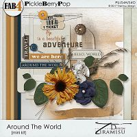 Around The World ~ Mini-kit  by Tiramisu design