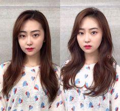 • 3) Hair만으로도 다른사람이~? 헤어스타일 전/후 : 네이버 블로그 Korean Long Hair, Long Hair Styles, Long Hairstyle, Long Haircuts, Long Hair Cuts, Long Hairstyles, Long Hair Dos