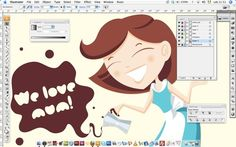 +LenaFolio+ - grafica ✩ illustratrice ✩ attaccastelle