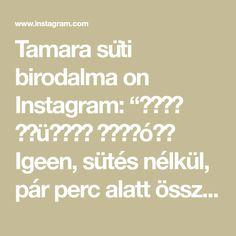 """Tamara süti birodalma on Instagram: """"𝑶𝒓𝒆𝒐 𝒕𝒓ü𝒇𝒇𝒆𝒍 𝒈𝒐𝒍𝒚ó𝒌💙 Igeen, sütés nélkül, pár perc alatt összelehet dobni, mielőtt megjönnek a vendégek. Ezek tényleg egy falatnyi…"""" Math Equations, Instagram"""