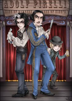 Sweeney Todd stage show on Behance