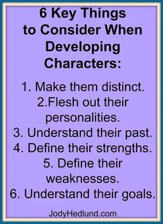 Author, Jody Hedlund: 6 Key Things to Consider When Developing Characters Book Writing Tips, Writing Quotes, Writing Resources, Writing Help, Writing Skills, Writing Prompts, Writing Ideas, Creative Writing Tips, Writing Workshop