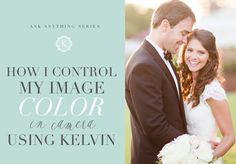 why wedding photographers shoot in kelvin white balance instead of on auto. A review on why kelvin white balance allows for faster processing time.