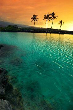 ~~Sunset at Kiholo Bay, Big Island, Hawaii by Yves Rubin Photography~~