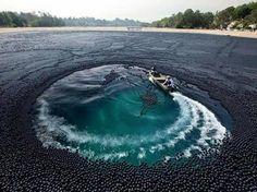 قامت وزارة المياه في لوس انجلوس عندما اكتشفت أن المياه في البحيرات التي يعتمد عليها