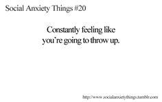 Social Anxiety Things