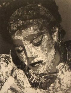 """Juliet with Mud Mask""    Man Ray, 1944."