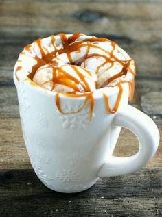 Homemade Caramel Macchiato #Starbucks #Coffee #Caramelo #Vainilla #Cafe