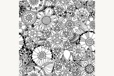 Ornament Pattern Graphics Seamless Abstract Tribal Pattern. Vector illustration. Hand Drawn Texture1 - Files Vector (.eps) by Vector&VideoArtShop