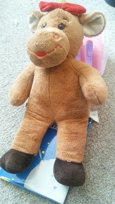 Build a Bear,brown cow,17 inches #BuildABearWorkshop