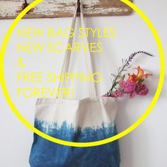 Hello! We have done gorgeous new summer scarves and totes. And from now on we can offer free shipping forever just add FREESHIPPINGFOREVER at the checkout  Happy days!