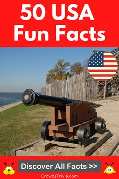 These 50 USA fun facts will amaze and surprise anyone. Discover USA history facts, presidential trivia facts, American revolution facts, US geography facts, and more. #USA #facts #funfacts #america #trivia #quiz #crowdstrivia Family Trivia Questions, Funny Quiz Questions, Trivia Facts, Funny Facts, American Flag Facts, Australia Fun Facts, Presidential Trivia, Usa Facts, Us Geography