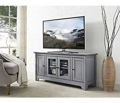 "Ace 52"" Antique Grey TV Stand 