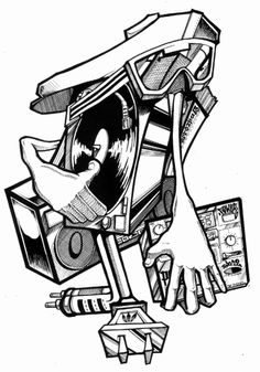 Bboy Turntable Drawing @imgbuddy.com