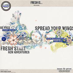 Fresh is ... elements by Maya de Groot