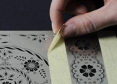 Pergamano technika - papírcsipke készítés - Art-Export webáruház