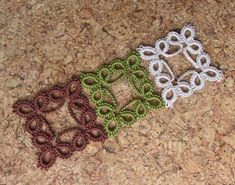 It is a website for handmade creations,with free patterns for croshet and knitting , in many techniques & designs. Tatting Armband, Tatting Bracelet, Tatting Jewelry, Tatting Lace, Shuttle Tatting Patterns, Needle Tatting Patterns, Crochet Motif, Knit Crochet, Crochet Patterns