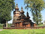Wooden Tserkvas of the Carpathian Region (Poland) - World Heritage Site Central And Eastern Europe, Old Churches, Catholic Churches, Poland Travel, Place Of Worship, World Heritage Sites, Places To See, Around The Worlds, Gothic Architecture